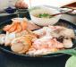 俵屋さんでの海鮮鍋