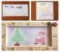 PSAでクリスマスの絵を描くワークショップ